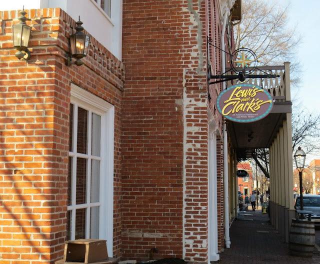 Lewis and Clark's St Charles, Missouri