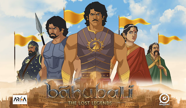 The 1000 Crore Phenomena Becomes an Animated Series 'Baahubali: The Lost Legends' to Launch on COLORS