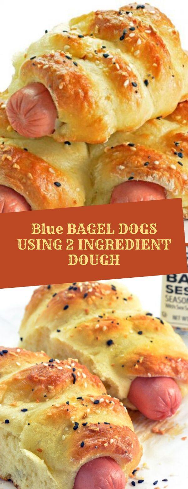 BAGEL DOGS USING 2 INGREDIENT DOUGH
