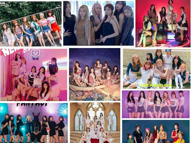 10 Kpop Girl Groups