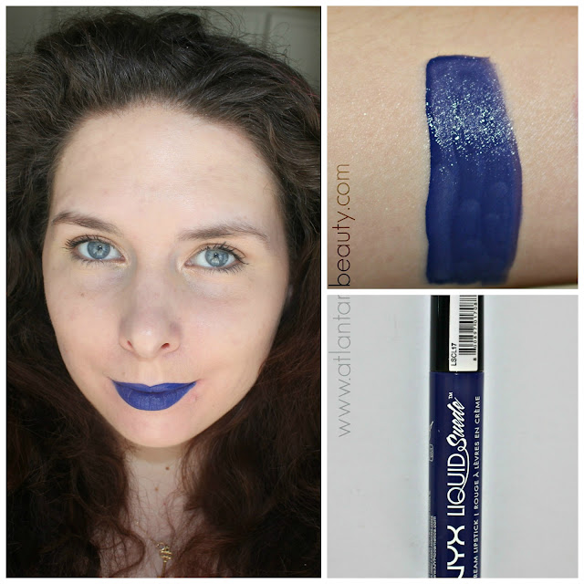 NYX Liquid Suede in Jet Set