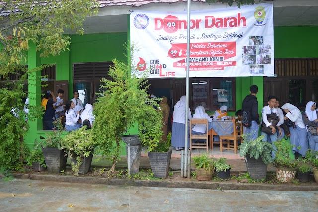 Donor Darah SMAN 14 Bandar Lampung