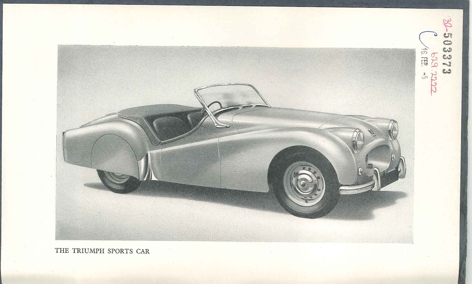 Vitessesteve - blog: Triumph TR2 Instruction Book