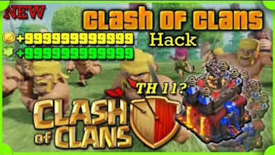 Clash of Clans v8.709.2 Mod Hack APK (Unlimited All) Update Terbaru Tahun 2017