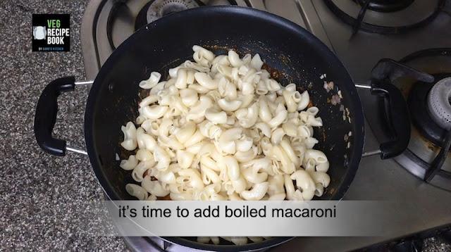 Masala Macaroni Pasta
