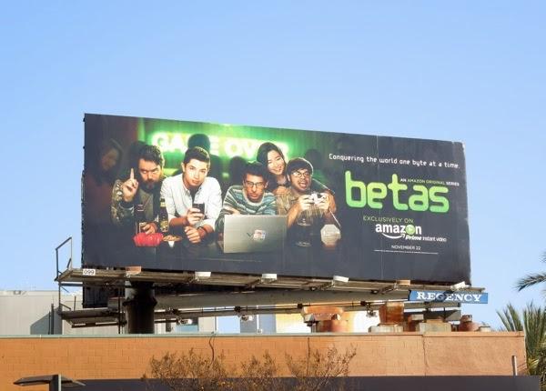 Betas season 1 Amazon billboard