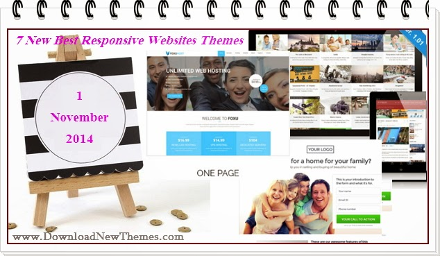 7 New Best Responsive Websites Themes