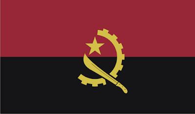 Gambar Bendera Negara Angola