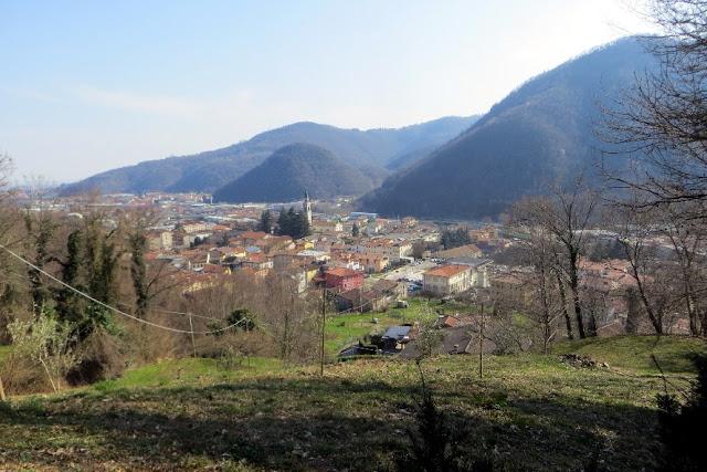 sentiero panoramico torrebelvicino valle leogra