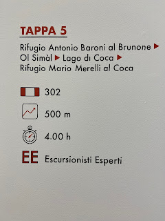 Fifth leg of Sentiero delle Orobie - Tito Terzi Exhibit