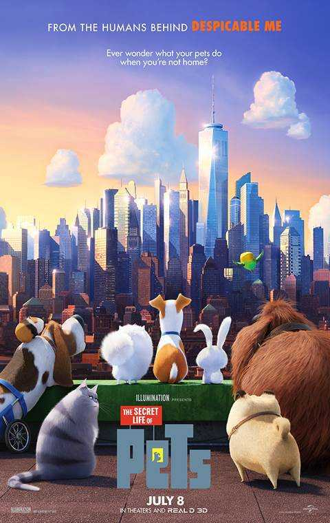 Download The Secret Life Of Pets 2016 Esub 720p BluRay 5 1 Dual Audio Engl Torrent