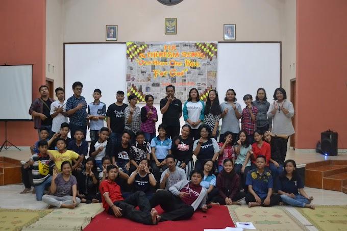 """""""One Heart, One Faith for God"""" Rekoleksi Remaja Paroki St. Theresia Sedayu"""