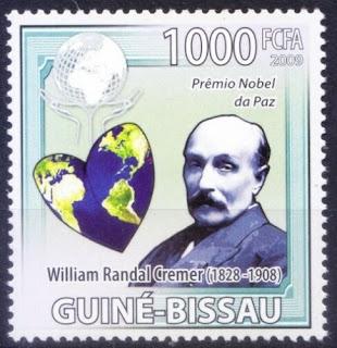 Nobel Peace winner Randal Cremer Member of Arbitration, Guinea Bissau 2009
