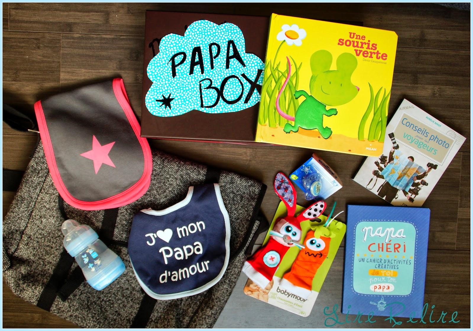 Lire relire ne pas lire une papa box for Geschenke selber machen fa r papa