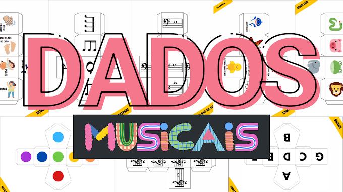 Dados Musicais | Para Imprimir