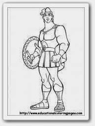 Ausmalbilder Hercules Zum Ausdrucken