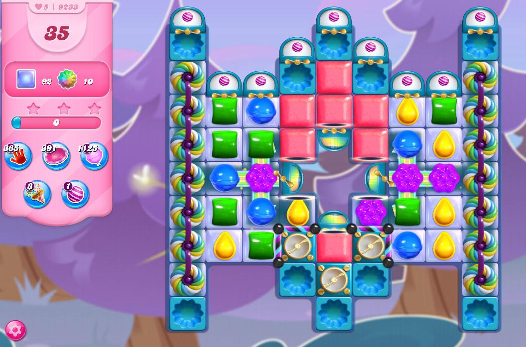Candy Crush Saga level 9233