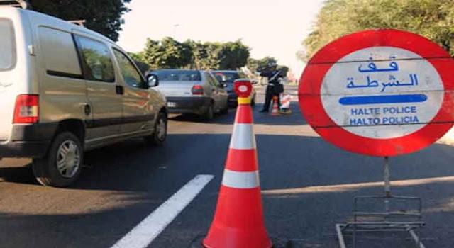 تزنيت : توقيف شاحنة متجهة إلى أكادير يفجر مفاجأة غير متوقعة، و السائق يورط نفسه برشوة مرفوضة.