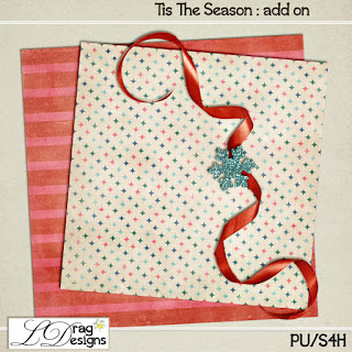 Creative Team for LDrag Designs -   Tis the Season and Coordinating Freebie