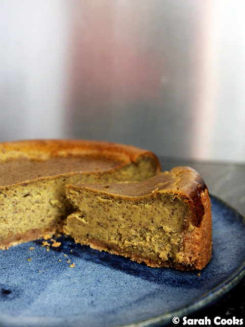 Petite Pistachio Cheesecake