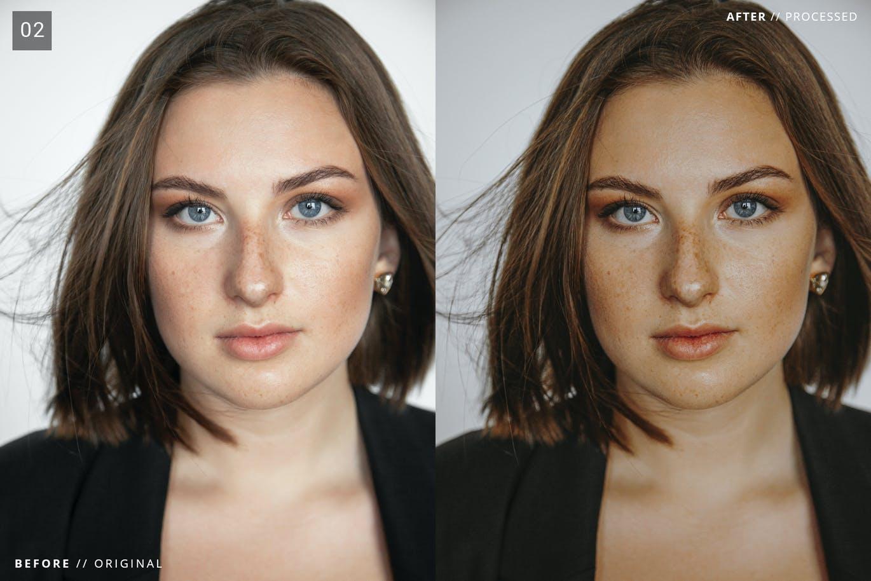 6 Presets Xử Lý Ảnh Chân Dung – Portrait Enhancer Lightroom Presets (XMP, DNG)