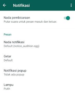 Ampuh, 8 Cara Mengatasi Notifikasi WhatsApp Tidak Bunyi