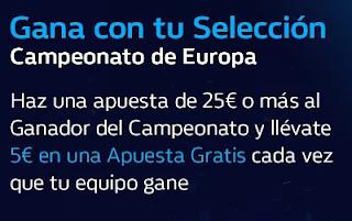 William hill Gana con tu Selección Campeonato de Europa 2021