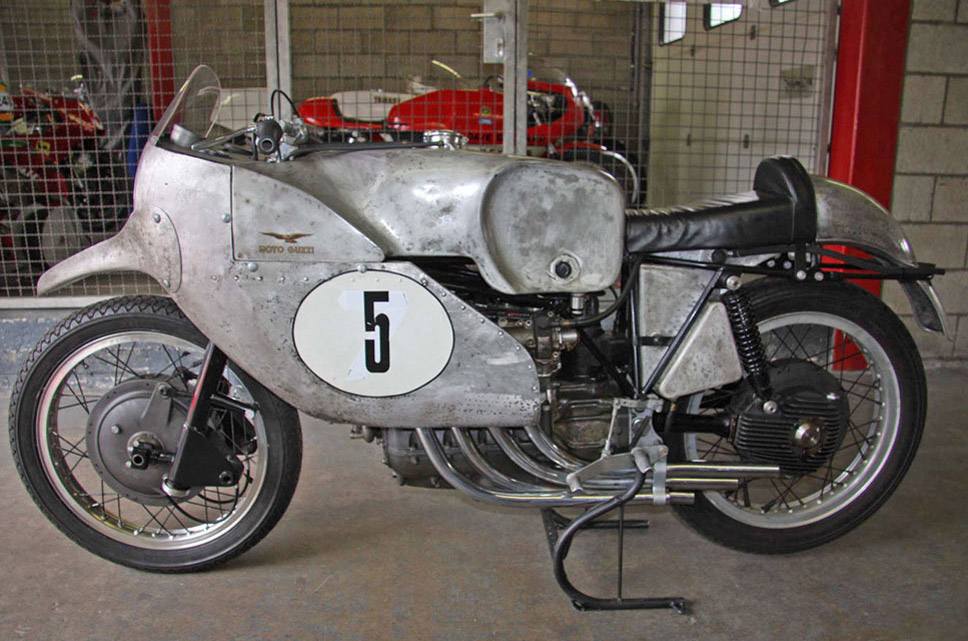 1953 4 cylinder guzzi ~ return of the cafe racers