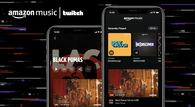 Amazon Music And Twitch To Add Live Streaming With On-Demand Listening