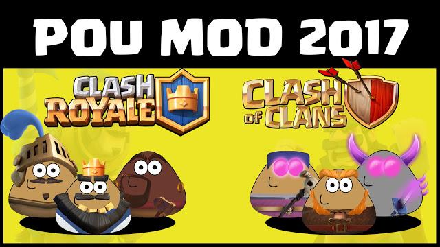 Pou Clash (Clash Royale / Clash Of Clans) 2017