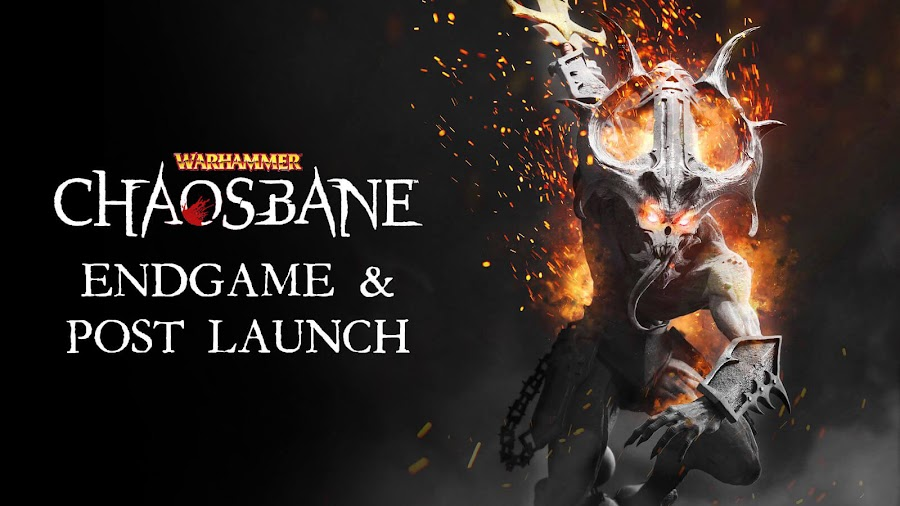 warhammer chaosbane post launch content update dlc roadmap pc ps4 xb1 arpg eko software