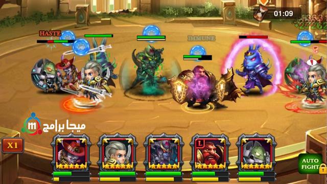 لعبة Heroes Charge