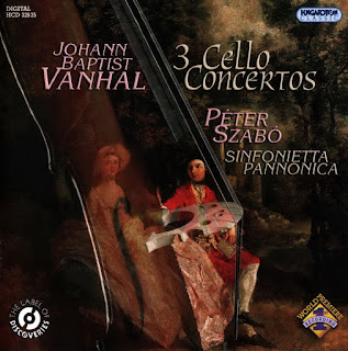 Johann Baptist Vanhal – Vanhal: Cello Concertos