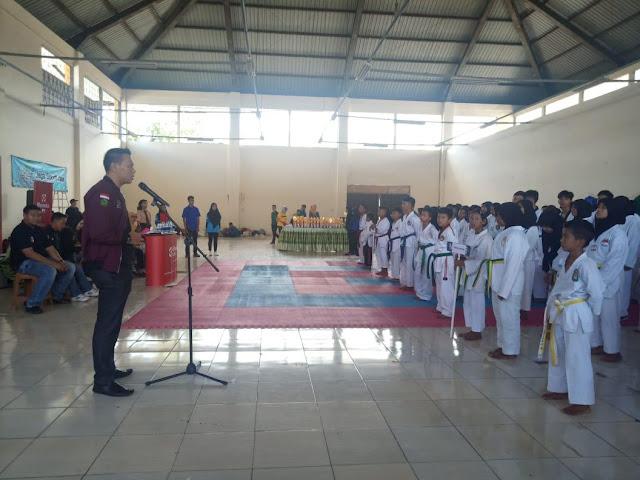 APSI Lampung Resmi Buka Kejuaraan Taekwondo Cup