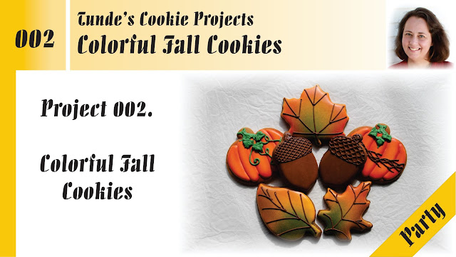Colorful Fall cookies by Tunde Dugantsi