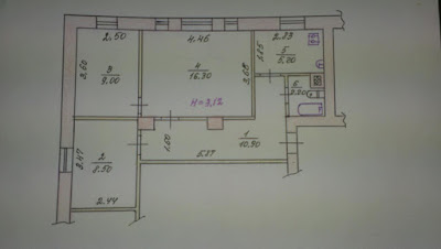 Продажа 3-комнатной квартиры по ул. Постышева, 56