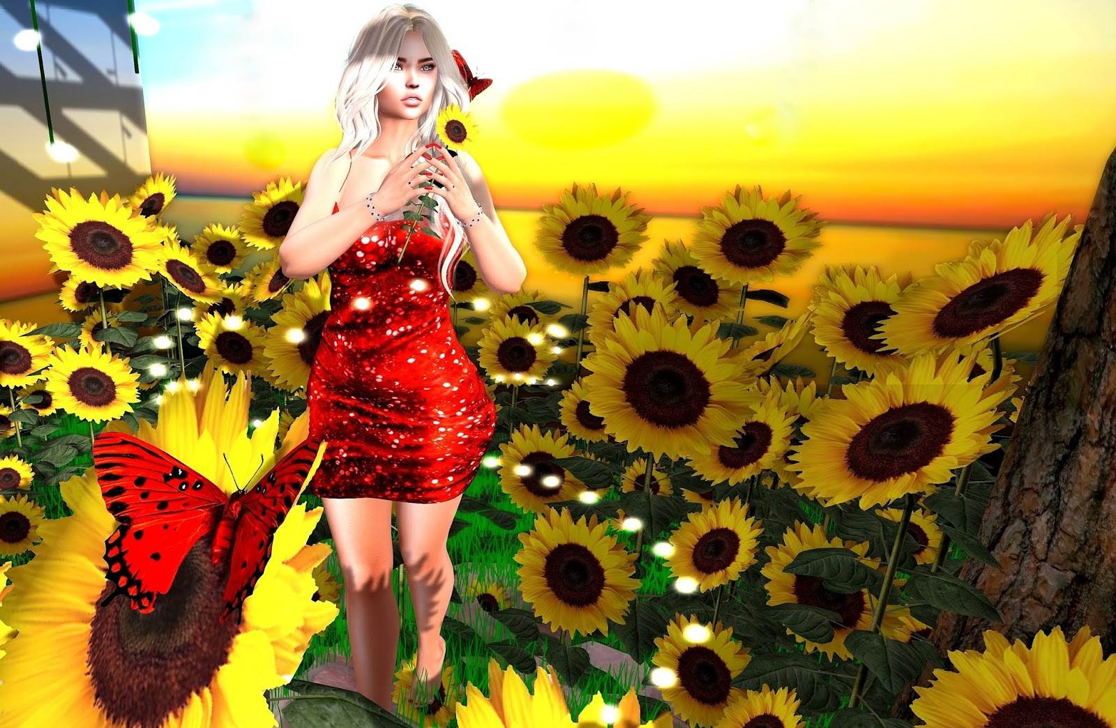 Sunflowers and Sparkles