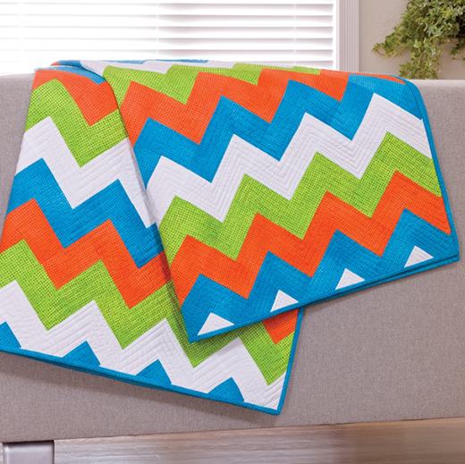 Chevrons Quilt Free Pattern