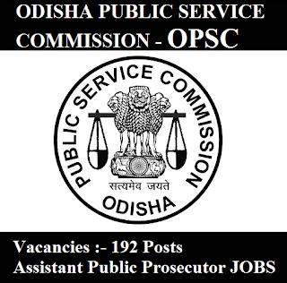 Odisha Public Service Commission, OPSC, PSC, Odisha, Public Prosecutor, Graduation, freejobalert, Sarkari Naukri, Latest Jobs, opsc logo