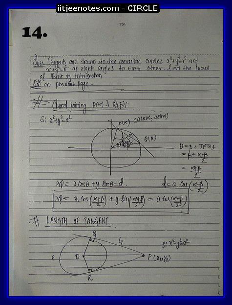 circle notes cbse4