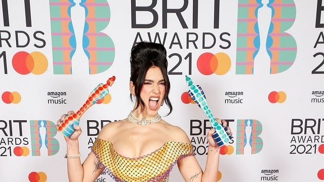 Dua Lipa vince due Brit Awards