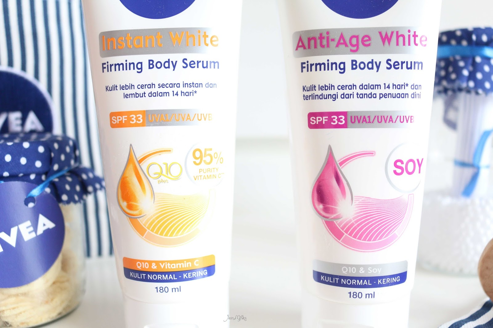 perawatan tubuh terbaik, body lotion, nivea, lotion. spf, sun protection, review beauty blogger indonesia, beauty blogger indonesia, indonesian beauty blogger, nivea indonesia, nviea instant white serum, body serum, kulit putih