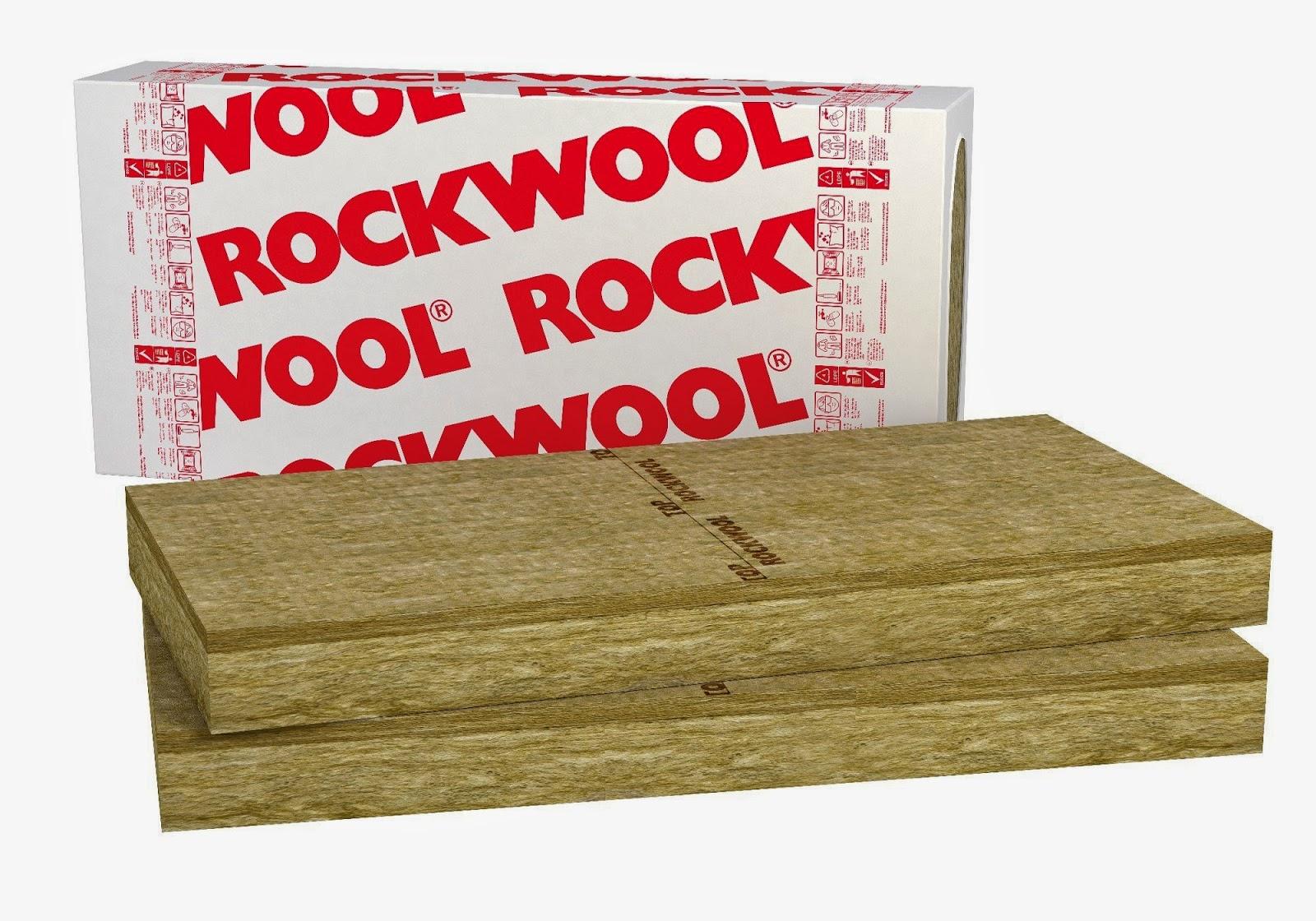 rockwool peredam suara