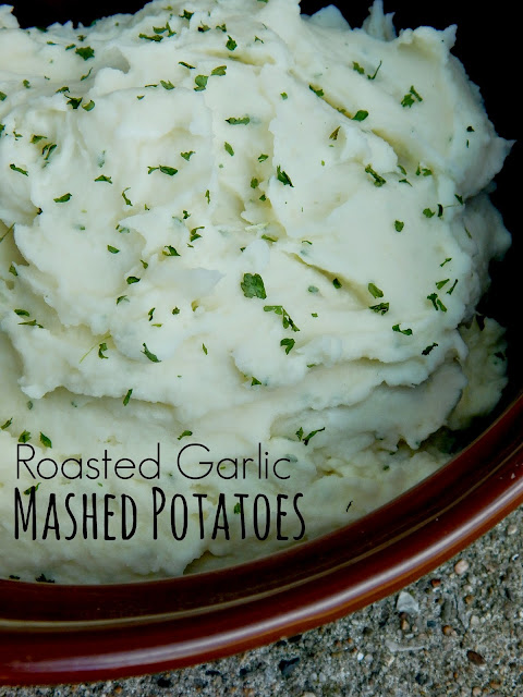 Creamy garlic mashed potatoes - Cook and Post