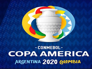 Copa America 2020 Argentina and Colombia Logo