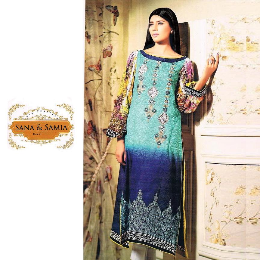 Sana Samia – Latest New Collection Pakistani Style Kurti