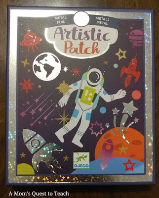 Artistic Patch Cosmos kit box lid