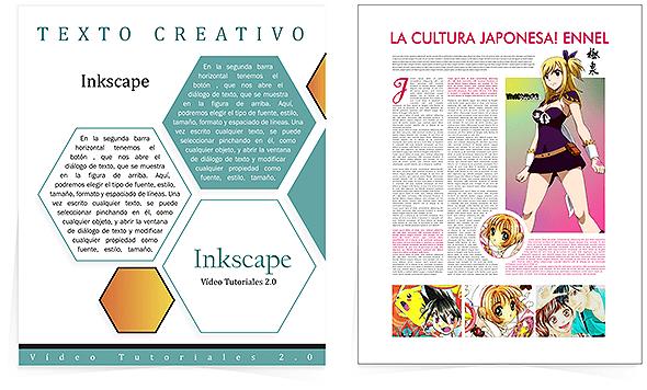 otros ejemplos de marcos de texto creativos