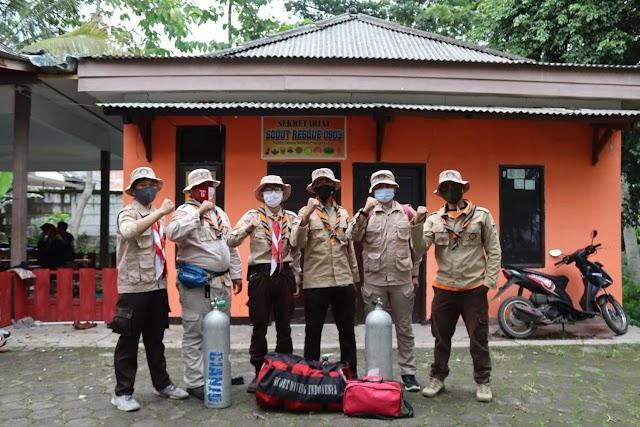 SATGIAT SAR 0903 Kerahkan 7 Personil Guna OP SAR Pesawat Sriwijaya