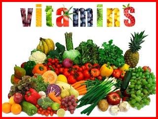 jenis dan fungsi vitamin bagi tubuh.